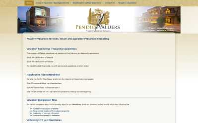 Pendio Valuers Website